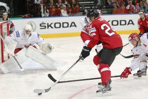 Hokejisti Švajčiarska si poradili s Bielorusmi.