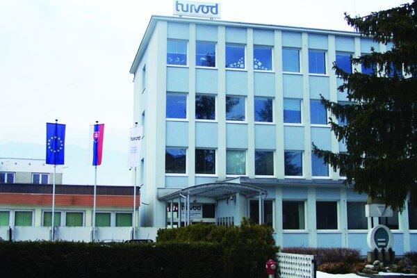 Sídlo Turčianskej vodárenskej spoločnosti.