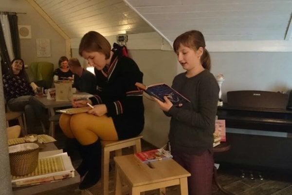 Zo svojej obľúbenej prečítala aj najmladšia návštevníčka podujatia.