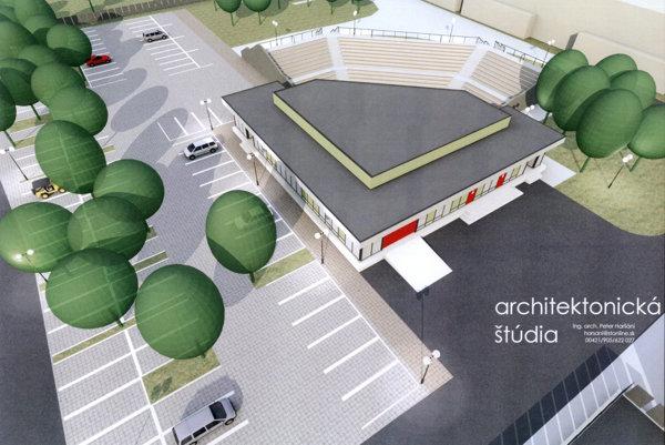 Takto má vyzerať vynovený amfiteáter.