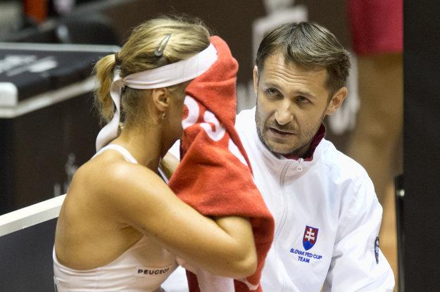 Anne Karolíne Schmiedlovej zápas príliš nevyšiel.