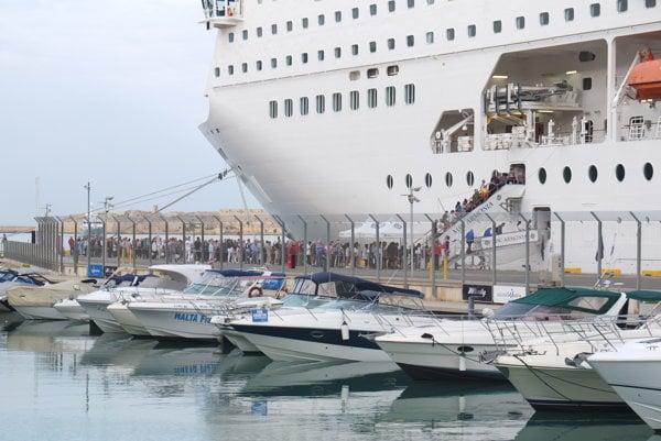 Plavby loďou po Európe.