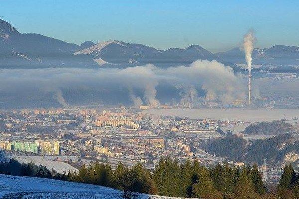 Problém so smogom nemal len Ružomberok a Martin.