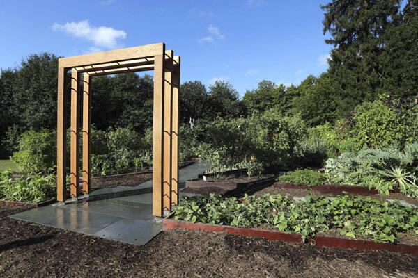 Zeleninová záhrada, ktorú v roku 2009 založila Michelle Obamová.