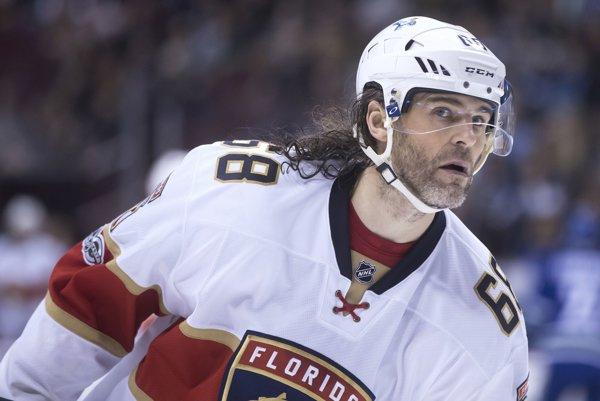 Jaromír Jágr sa do NHL vráti v drese Calgary.