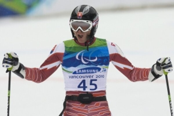 Jakub Krako sa tešil z druhého víťazstva na paralympiáde.