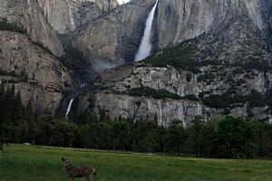 Yosemitské vodopády.