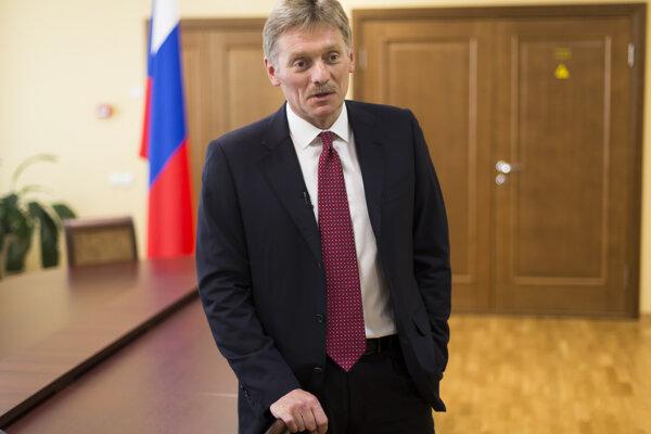 Hovorca Kremľa Dmitrij Peskov.