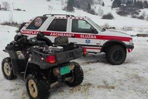 Záchranná asistenčná služba disponuje kvalitným vybavením.