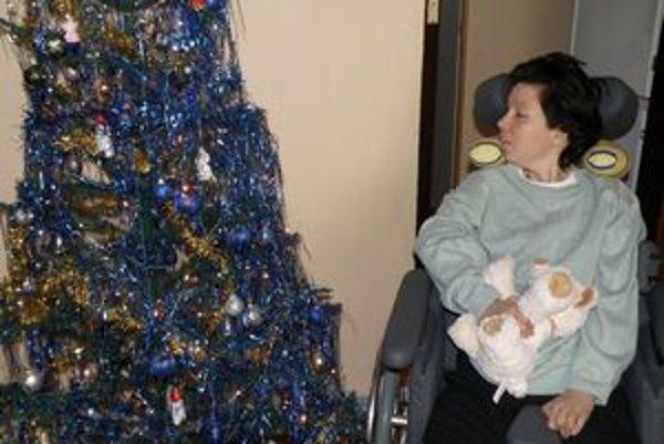 Marika mohla byť po rokoch aj blízko vianočného stromčeka.
