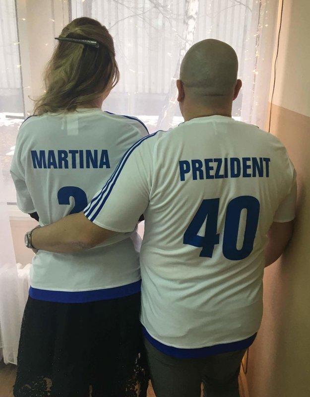 Symbolické dresy od kamarátov. Bude Martinka novou hráčkou FK?