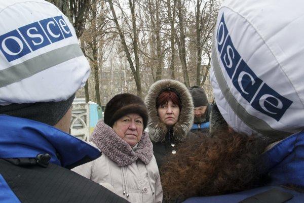 Misia OBSE na Ukrajine.