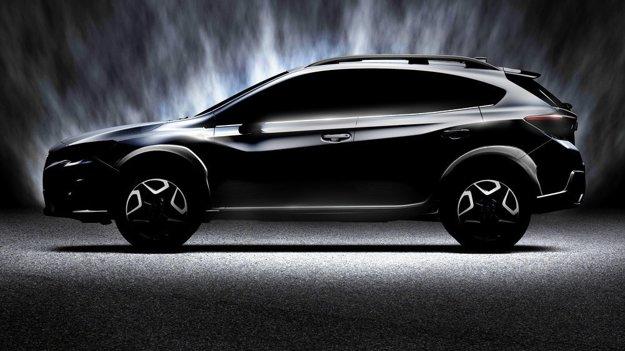 Subaru XV na prvom obrázku