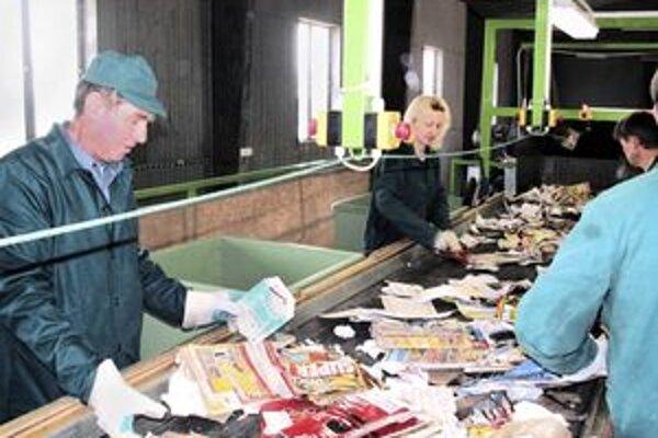 Prievidžania môžu do zberného dvora nosiť rôzny odpad.