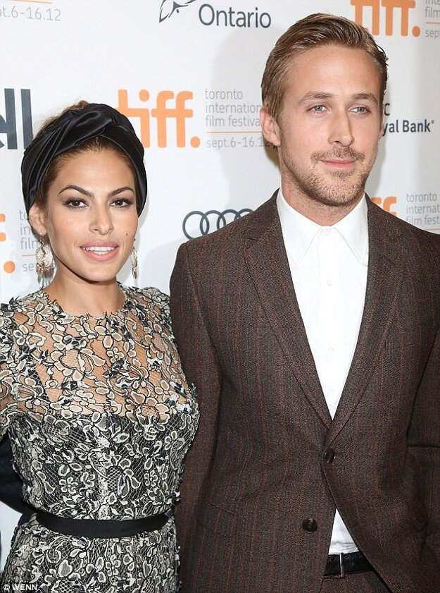 Eva Mendes a Ryan Gosling.
