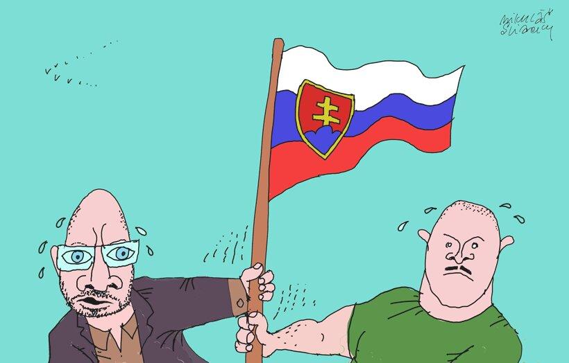 Súperiaci vlastenci (Sliacky) 23. február