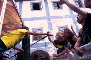 Catastrofy počas vystúpenia v Banskej štiavnici
