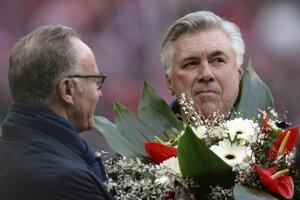 Carla Ancelottiho ocenil aj výkonný šéf Bayernu Mníchov Karl-Heinz Rummenigge.