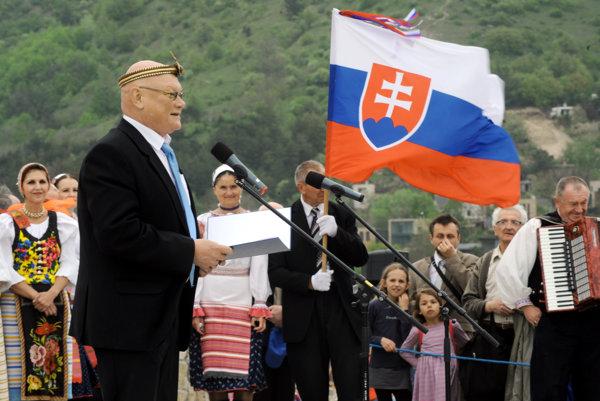 Predseda Matice slovenskej Marián Tkáč.