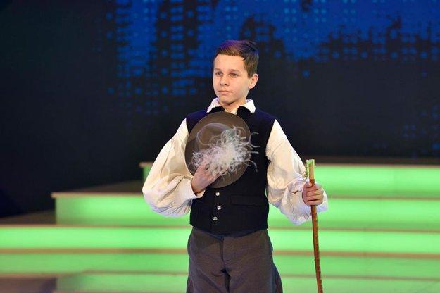 Dániel Varga zatancoval výnimočný pastiersky tanec.