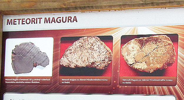 Vzhľad meteoritu Magura sa líši podľa veľkosti úlomku.