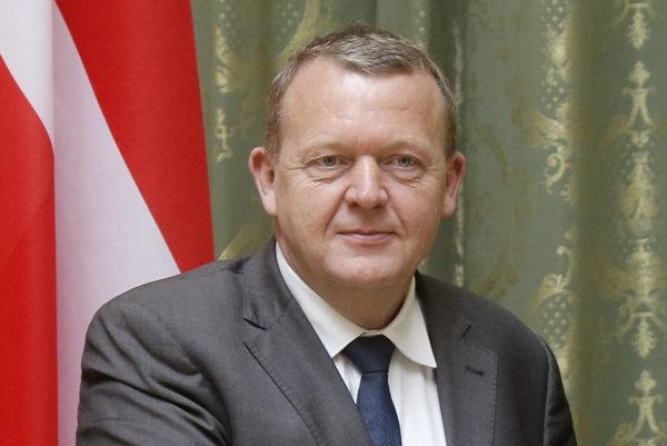 Dánsky premiér Lars Lokke Rasmussen.