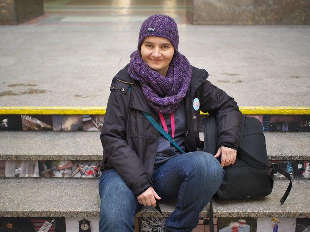 Zuzana Pohánková, riaditeľka občianskeho združenia Proti prúdu