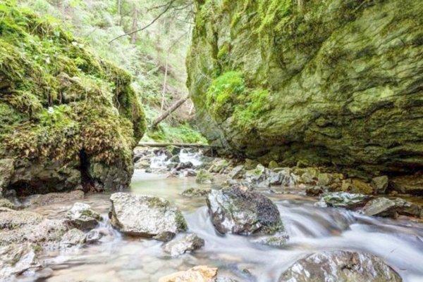 Hybická tiesňava je prírodná rezervácia na potoku Hybica.
