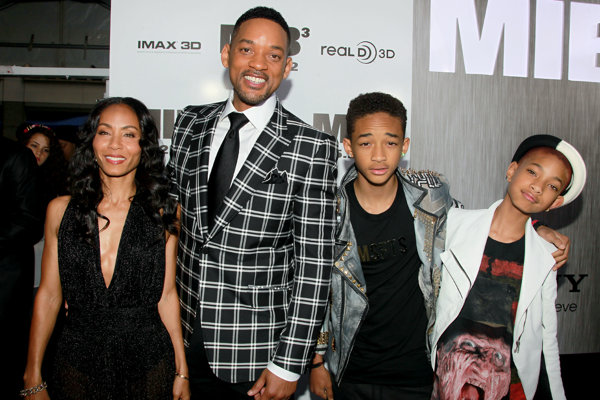 Will Smith, Jada Pinkett-Smith s deťmi