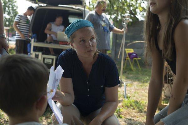 Na pľaci. Iveta Grófová patrí k mierumilovným režisérkam.