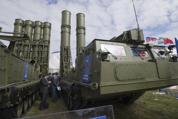 Protilietadlový raketový systém ruskej výroby S-300.