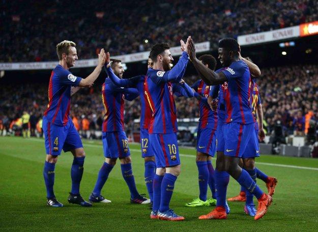 Barcelona rozobrala Celtu Vigo.