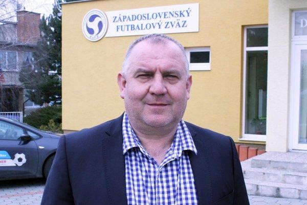 Predseda Západoslovenského futbalového zväzu Pavol Šípoš.