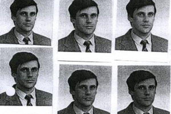 Fotografie Širokého zo spisu ŠtB.