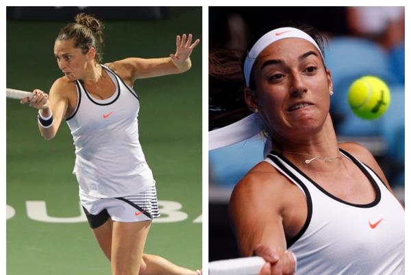 Česká tenistka Karolína Plíšková aj Francúzka Caroline Garciová nedávno zhodne oznámili, že obmedzia počet svojich vystúpení vo štvorhre, teraz v nej pomerne paradoxne spojili.