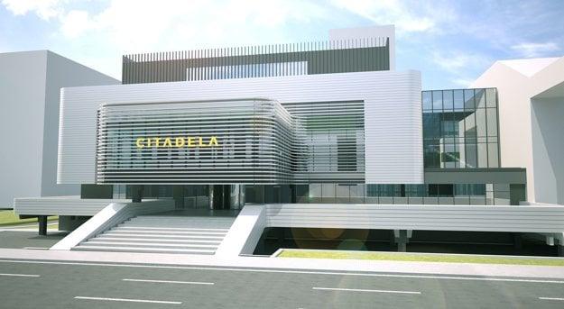 Takto by mohla vyzerať. Jeden z návrhov prestavby na modernú Citadelu.