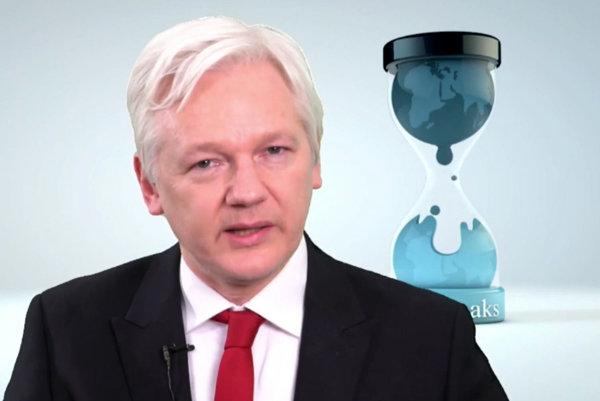 Zakladateľ projektu WikiLeaks Julian Assange.
