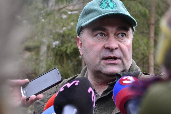 Riaditeľ Štátnych lesov Tanap-u Peter Líška.