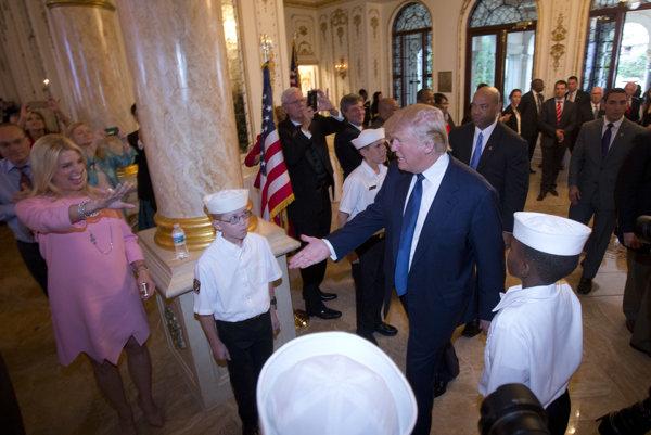 Donald Trump obľuboval Mar-a-Lago aj pred svojim zvolením. Nevzdal sa ho ani po inaugurácii.