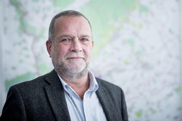 Ladislav Csáder, riaditeľ odboru dopravy Bratislavského samosprávneho kraja