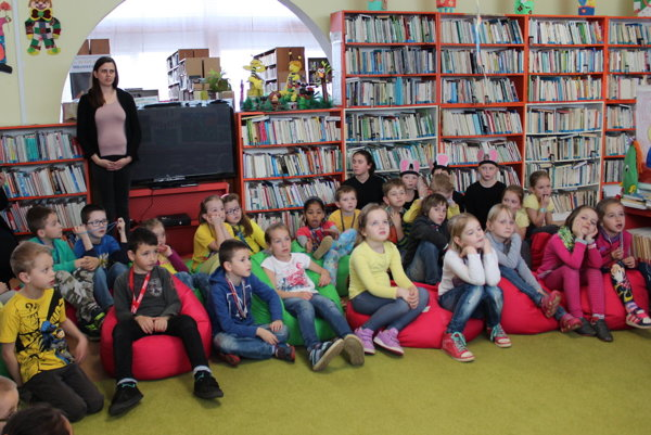 V Podduklianskej knižnici vo Svidníku.