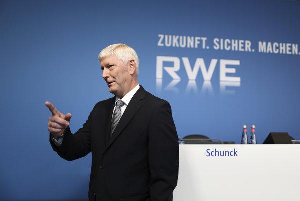 Šéf spoločnosti RWE Rolf Martin Schmitz.