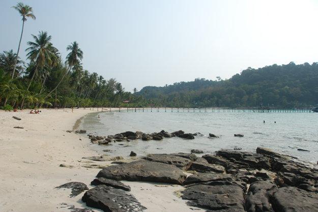 Pláž Siam Beach na ostrove Ko Kut