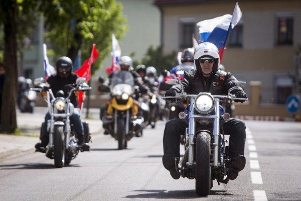 Motorkársky gang Noční vlci.