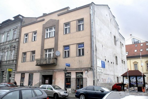 Predmet sporu. Budova na Mäsiarskej.