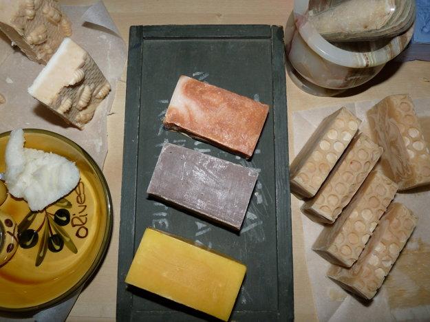 Eva Budinská vyrába rôznorodé domáce mydlá