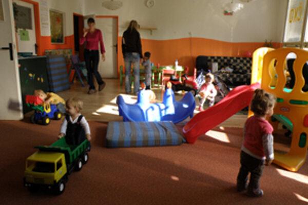 Mamičky s deťmi majú v Slniečku k dispozícii dve miestnosti.