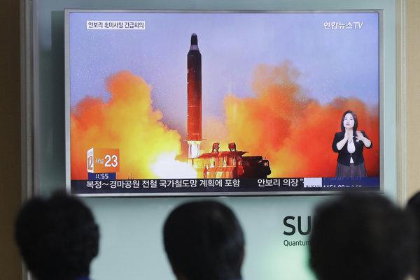 Zamieri raz Pchjongjang strelu na územie Spojených štátov?