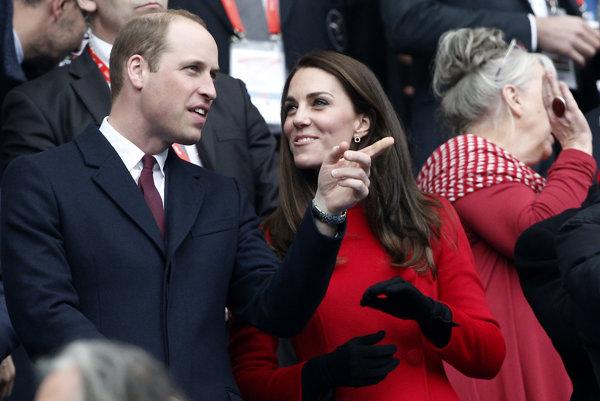 William a Catherine pricestovali do Francúzska už v piatok.