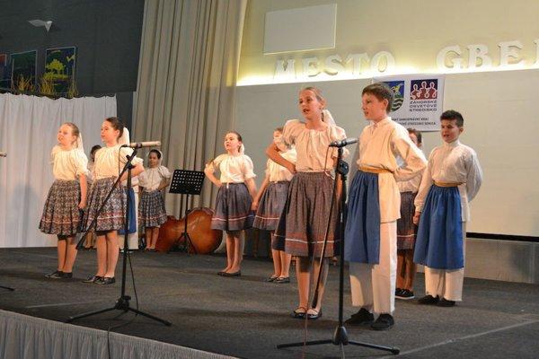 Regionálna súťažná prehliadka detských folklórnych súborov FOTO: Mesto Gbely